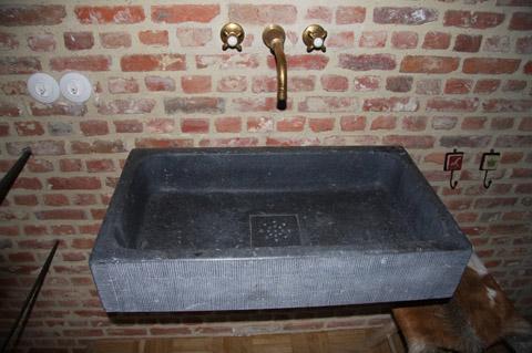 Galerij de groeve natuursteen b v - Oude keuken wastafel ...