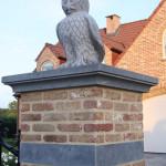 Belgisch Hardstenen Uil, HANDgekapt