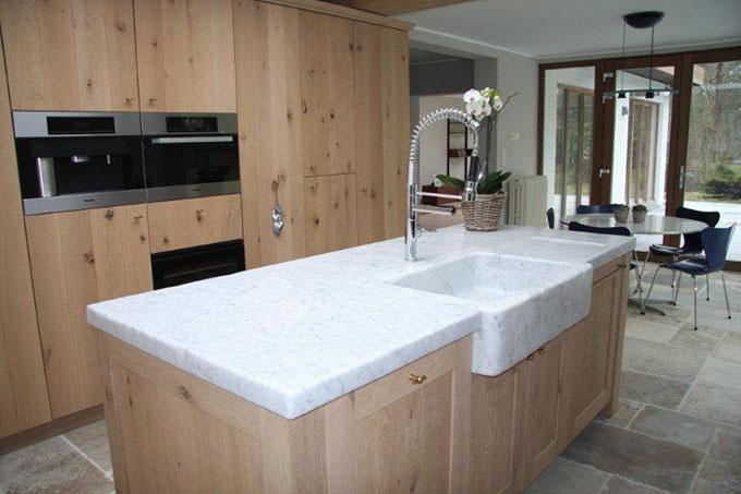 Keuken Gietvloer Marmer : Natuursteen keuken onderhoud beste ideen over huis en interieur